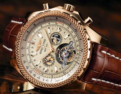 Una replica del oro Breitling, Breitling, Breitling falso, orologio falso, Breitling replica, replica orologio, orologio d'oro, Breitling Usher
