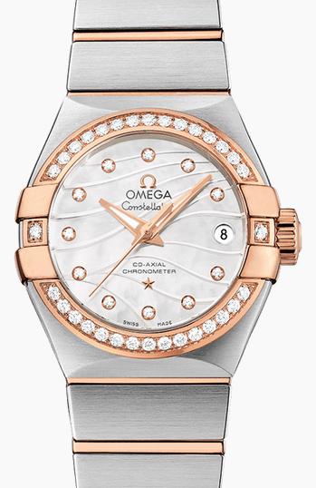 Affascinante Omega Rolex Replica Diamante Orologi Italia