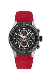 CAR2A1Z.FT6050 RED RUBBER STRAP 2016