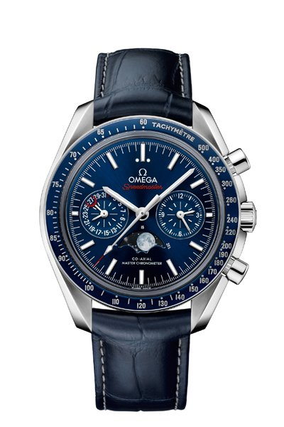 Baselworld 2106 Omega Replica Speedmaster Moonphase Master Chronometer Quadrante Blu Orologi