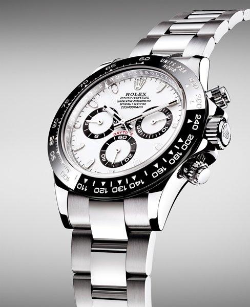 Acciaio inossidabile Rolex Cosmography Daytona Chronograph Replica Orologio