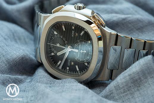 Hands-On Patek Philippe Nautilus Tempo Viaggi Cronografo Replica Orologio Ref. 5980 / 1A