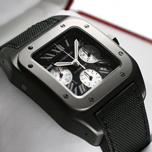 Fabbricato in Svizzera Cartier Santos-Dumont Cronografo Replica Orologi