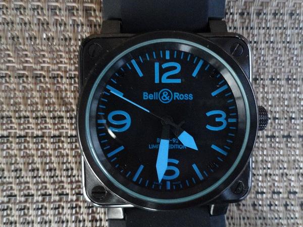 Migliore qualità Bell & Ross BR 01-92 Blue Comporre Replica Orologio