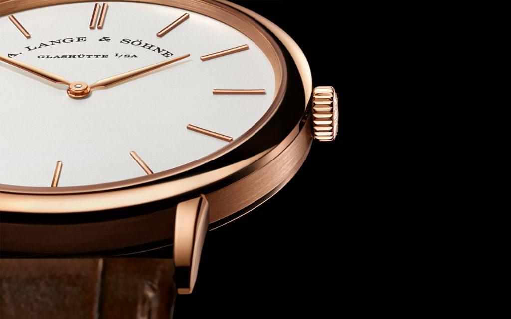 Migliore qualità Lusso Oro Rosa Replica A. Lange & Söhne Saxonia Thin Orologi