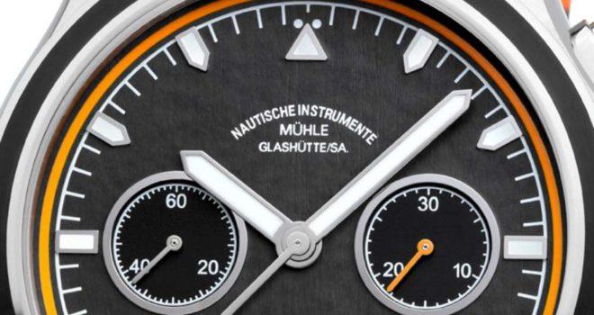 Alta qualità Mühle-Glashütte Cronografo Orologio Replica