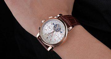 oro rosa Patek Philippe Grand Complicazioni Perpetual Calendar Replica Orologio 5270R