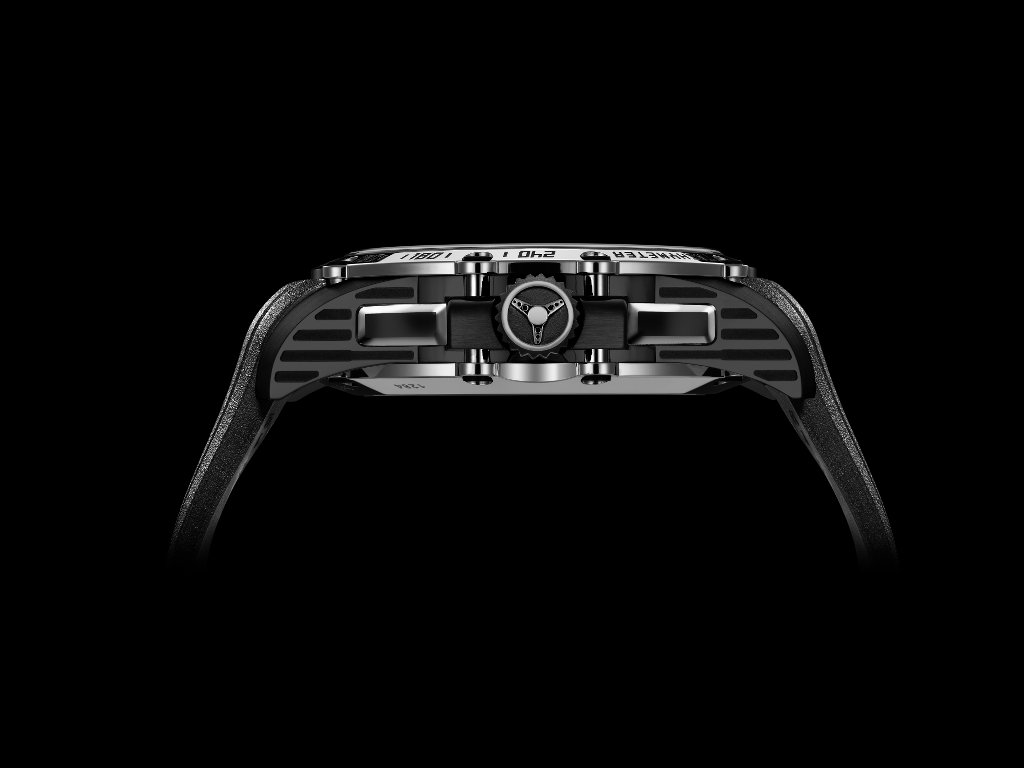 foto lato Chopard 8 Hertz Replica Superfast Chrono Only Watch 2015