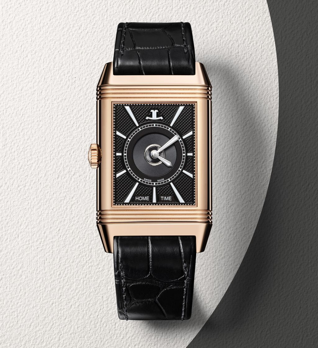 Reverso Classic Large Duoface nero