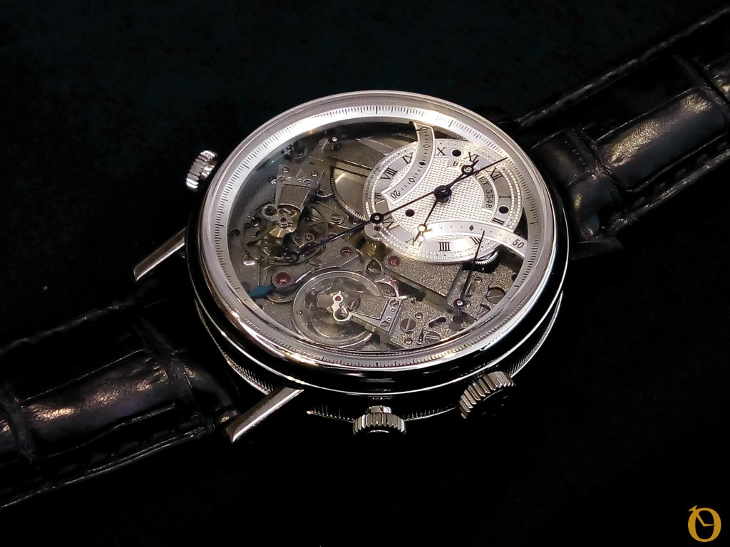 Breguet Tradition Chronographe Indépendant 7077 in oro bianco
