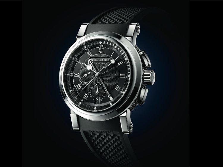 "foto Breguet Marine Chronographe ""200 ans de Marine"" 5823"