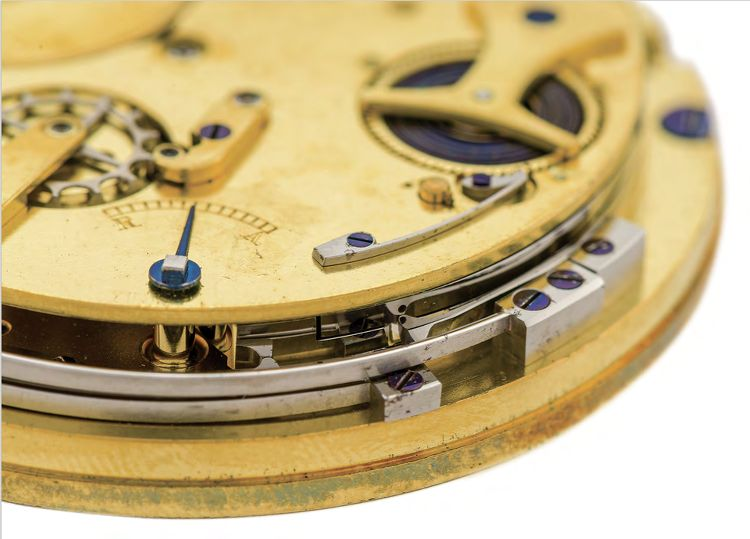 dettaglio orologio Breguet 21 Replica N° 3104