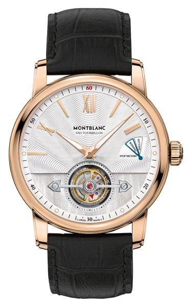 SIHH 2016 l'elegante Slim Oro rosa Montblanc ExoTourbillon Replica Orologio
