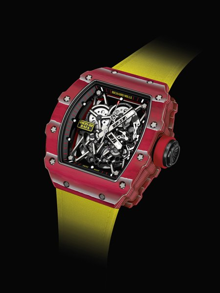 superficiale PVD/Titalyt Rosso Richard Mille Rafael Nadal RM 35-02 Scheletro Replica