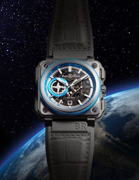 Uomo Scheletro Bell&Ross BR-X1 HyperStellar cronografo Replica Orologio