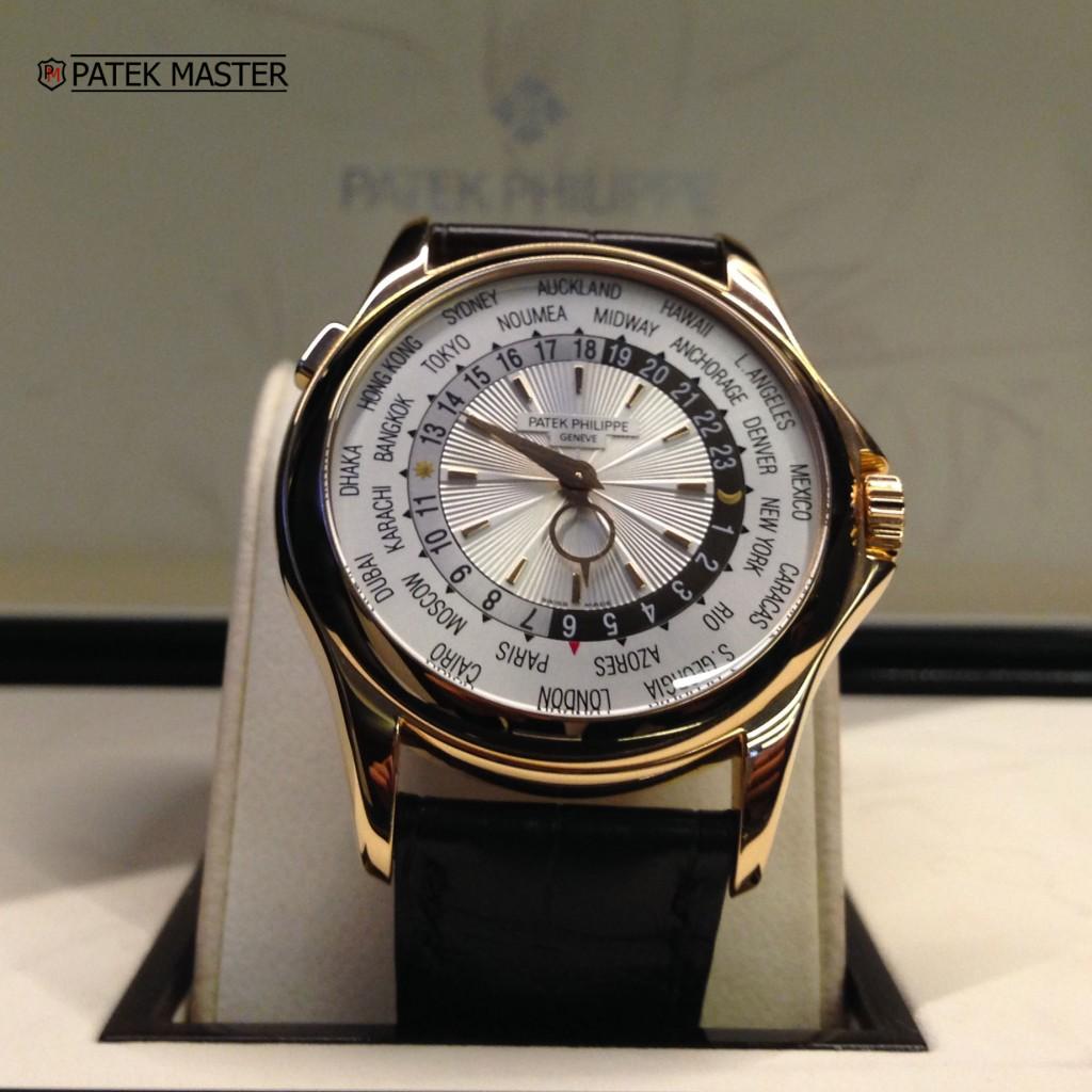 il lusso Oro rosa Patek Philippe World Time 5130R Replica Orologi