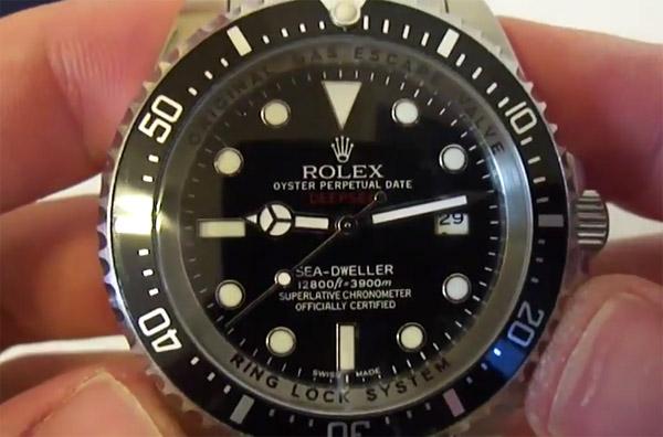 Fabbricato in Svizzera Lusso Rolex Sea-Dweller Repliche