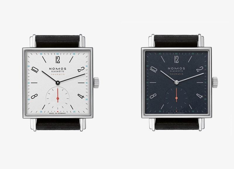 L'orologio quadrato per uomini di Nomos Glashütte Tetra Neomatik Replica