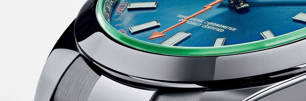 Fabbricato in Svizzera Lusso Replica Rolex Oyster Perpetual Milgauss Z-Blu Orologi