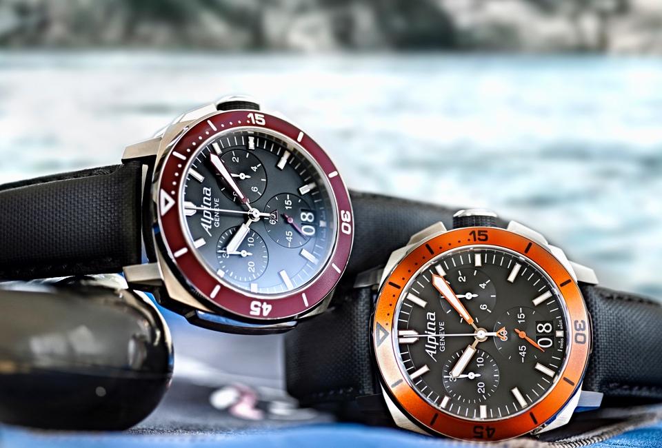 la Sporty Alpina Seastrong Diver 300 Replica Orologio subacqueo