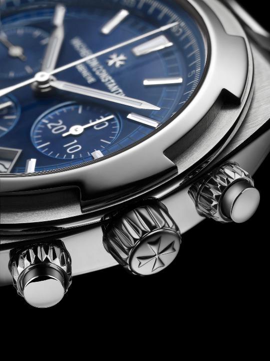 Vacheron Constantin Overseas Cronografo Quadrante Blu Orologi Replica