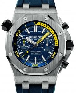 2016 nuovo Audemars Piguet Royal Oak Offshore Diver cronografo Orologi Replica